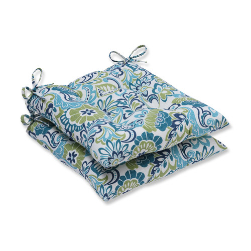 Pillow Perfect Zoe Mallard Wrought Iron Seat Cushion (Set of 2)