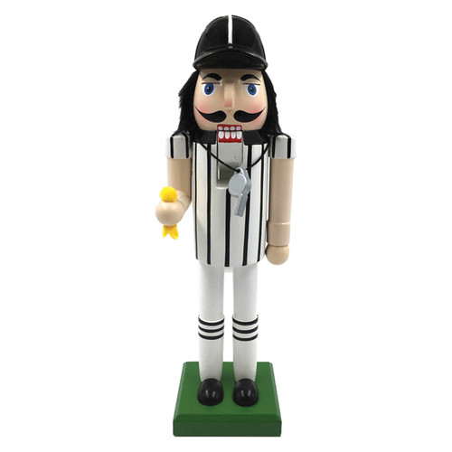 Santa's Workshop Referee Nutcracker 14""