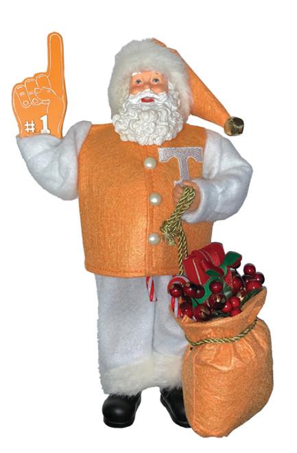 "Santa's Workshop Tennessee Santa 12"""