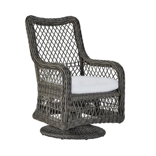 Lane Venture Mystic Harbor Outdoor Swivel Dining Chair