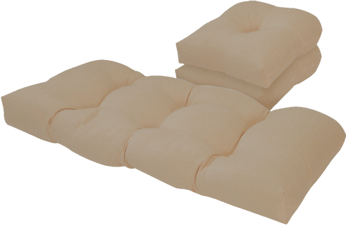 Outdoor Hemp 3 Piece cushion Set