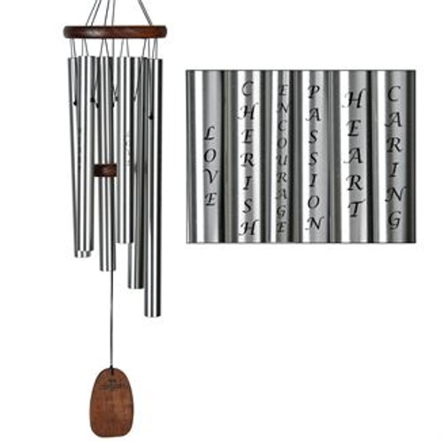 Woodstock Chimes Affirmation Chime Love