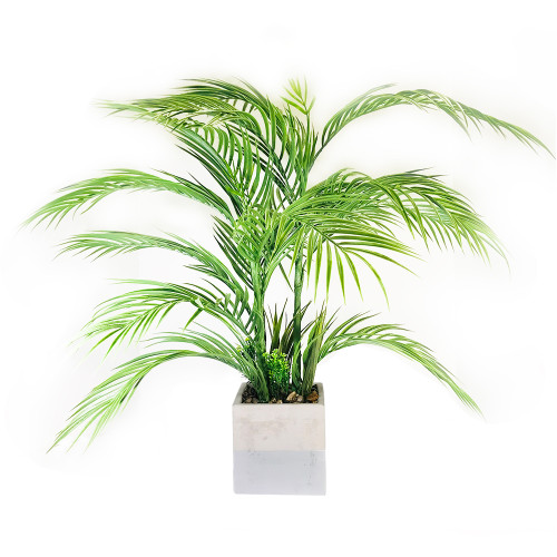 "Palm Leaf x 9 Pot 28"""