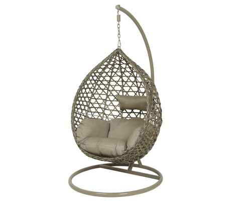 Montreal Hanging Chair Taupe