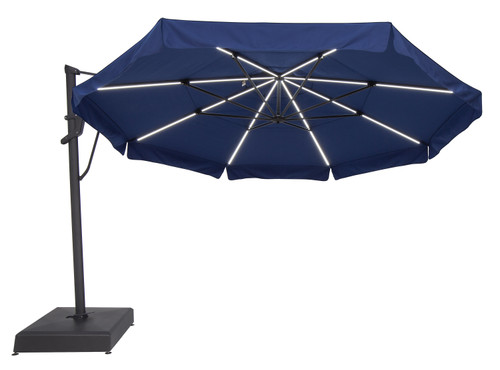 Treasure Garden Starlux 13' AKZ Plus Cantilever with Base