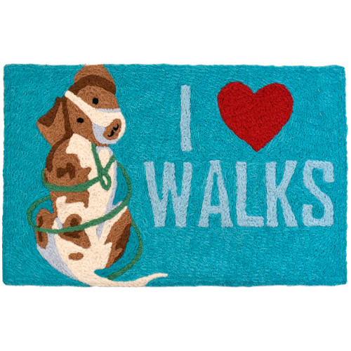 "I Luv Walks Jellybean Rug 20"" x 30"""