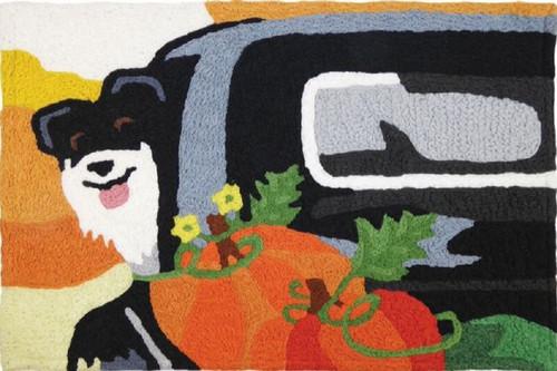 """Jellybean Farmers Pup Rug 20"""" x 30"""""""