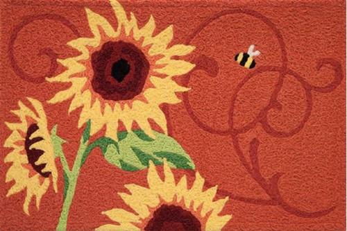 Jellybean Rug Sunflower Solstice