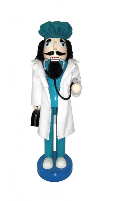"Santa's Workshop Doctor Nutcracker 14"""