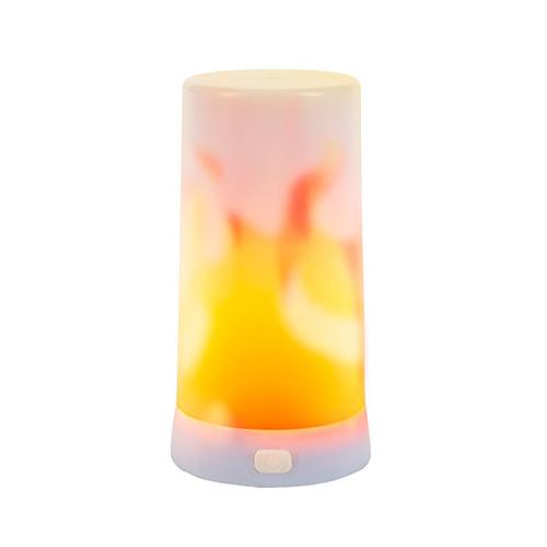 FireGlow Multi-Function Light True LED Fire-Like Flame Lantern