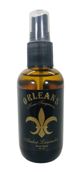 Orleans Home Fragrance Room Spray Ambre' Lavender 4 oz.