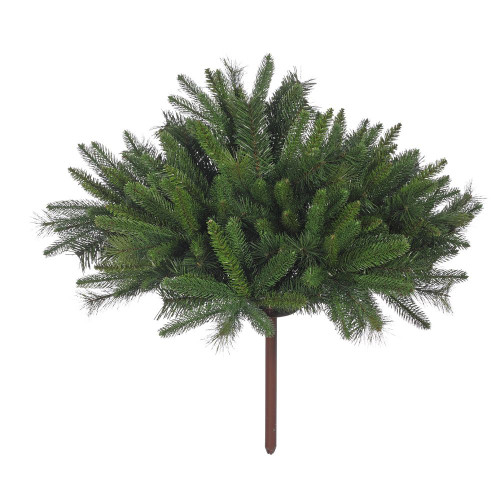 "Porch Pot Evergreen Cover 7"" x 34"" Unlit"