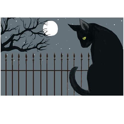 "Jellybean Rug Harvest Moon Cat 20"" x 30"""