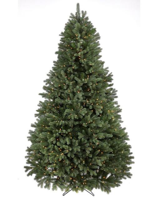 12' Prelit Colorado Spruce Artificial Christmas Tree