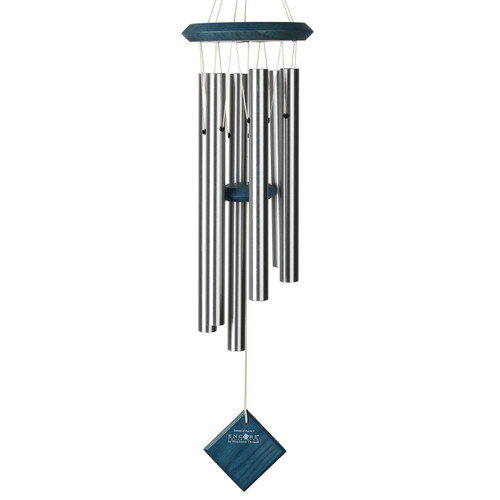 """Woodstock Chimes of Pluto Blue Wash 27"""""""