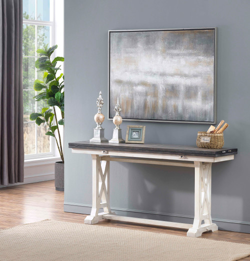 Coast to Coast Bar Harbor II Fold Out Console 64 in