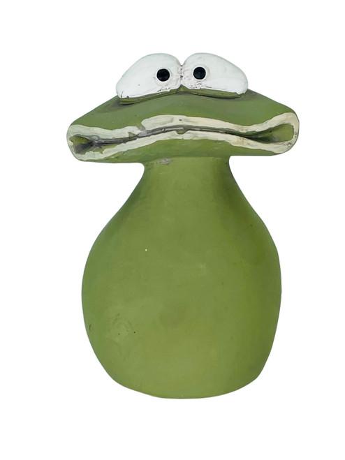 Google Eyed Concrete Garden Frog