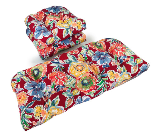 Outdoor Colson Berry 3 Piece Cushion Set