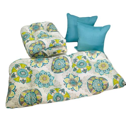 Outdoor Allodalla Oasis 5 Piece Cushion Set