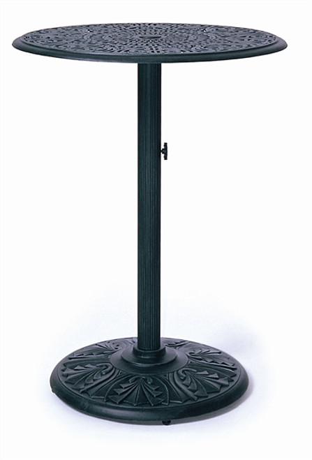 "Hanamint Tuscany Outdoor 30"" Round Pedestal Bar Table"
