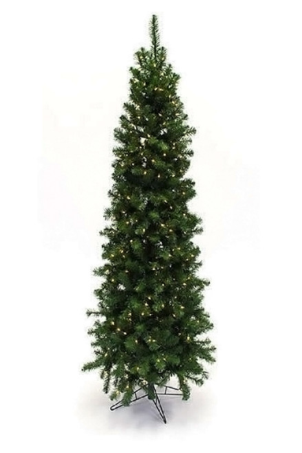 7.5' Augustine Prelit Artificial Christmas Tree