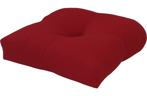Outdoor Solid Chili Pepper Cushion Set of 2