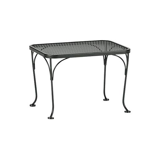 "Woodard Outdoor 18"" x 24"" Rectangular End Table"