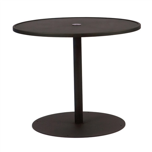 "Woodard Outdoor 36"" Round Umbrella Table"