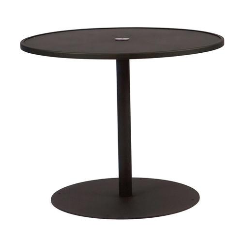 "Woodard Outdoor 36"" Round Umbrella Table"