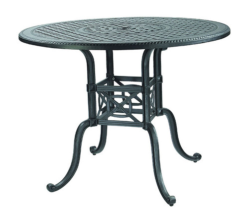 "Gensun Grand Terrace Outdoor 54"" Round Bar Table"