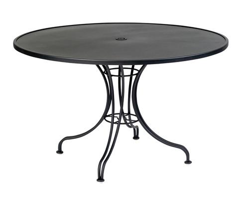 "Woodard Outdoor 48"" Round Umbrella Table"