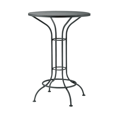 "Woodard Outdoor 30"" Round Bar Height Bistro Table"