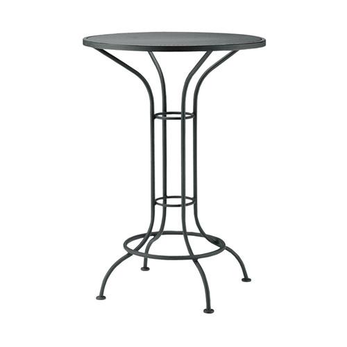 "Woodard Outdoor 30"" Round Bar Height Bistro Table"