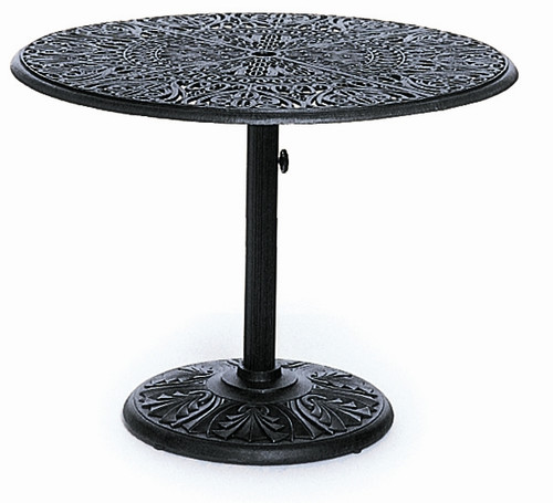 "Hanamint Tuscany Outdoor 42"" Round Pedestal Table"