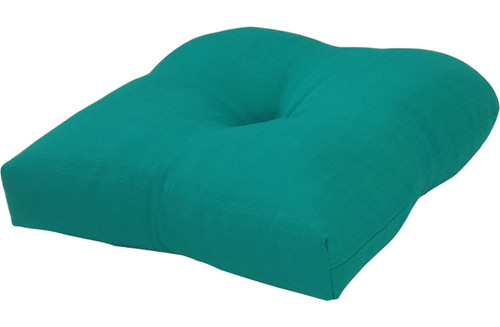 Outdoor Solid Teal Cushion Set of 2