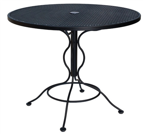 "Woodard Outdoor 36"" Bistro Umbrella Table"