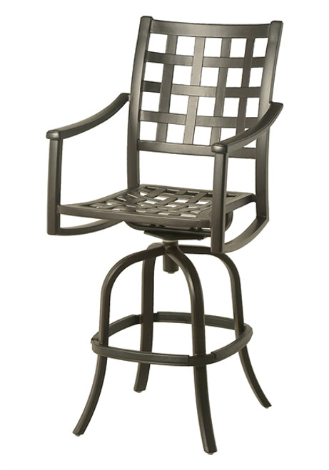 Hanamint Stratford Outdoor Swivel Bar Stool