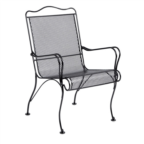 Woodard Tucson Outdoor High Back Dining Arm Chair