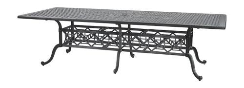 "Gensun Grand Terrace Outdoor 48"" x 112"" Rectangular Dining Table"