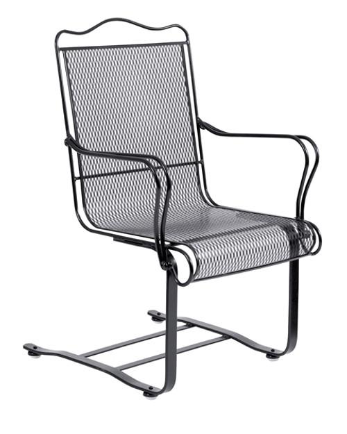 Woodard Tucson Outdoor High Back Spring Base Chair