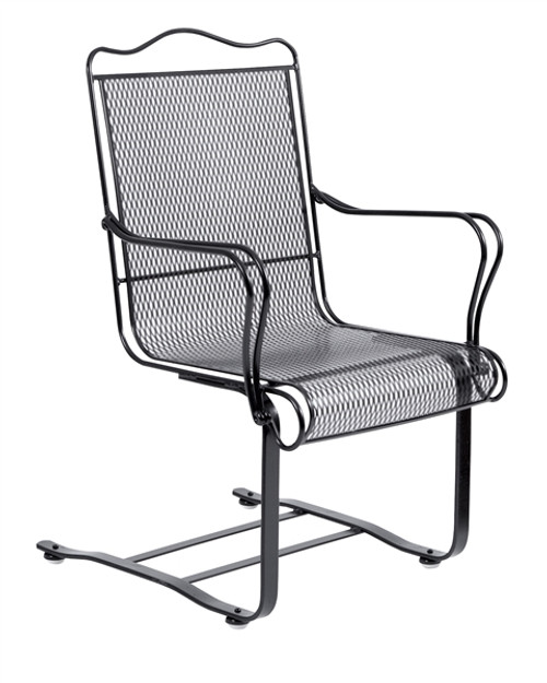 Woodard Tucson Outdoor High Back Spring Base Chair