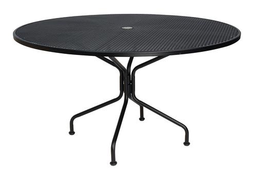 "Woodard Outdoor 54"" Round Umbrella Table"