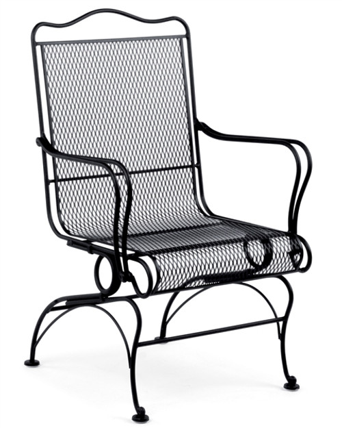 Woodard Tucson Outdoor High Back Coil Spring Chair