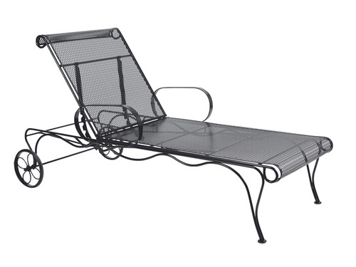 Woodard Tucson Outdoor Adjustable Chaise Lounge