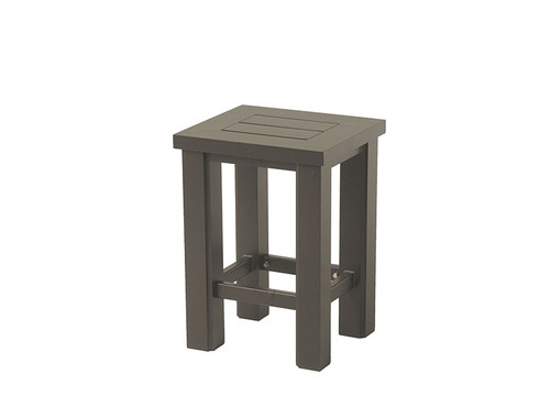 "Hanamint Sherwood Outdoor 16"" x 18"" Counter Stool"