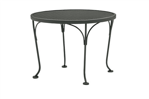 "Woodard Outdoor 24"" Round End Table"