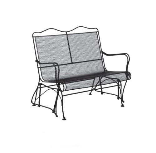 Woodard Tucson Outdoor High Back Gliding Loveseat