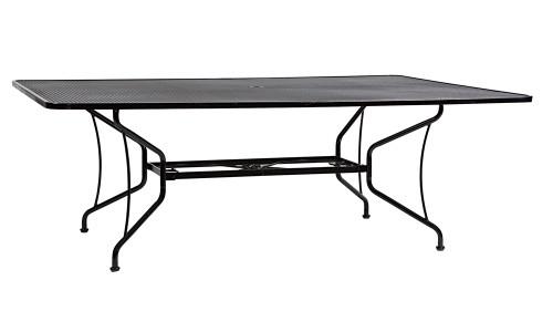 """Woodard Outdoor 84"""" x 60"""" Rectangle Umbrella Table"""