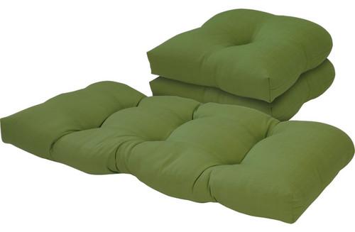 Outdoor Solid Verde 3 Piece Cushion Set