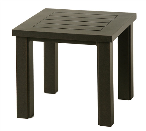 "Hanamint Sherwood Outdoor 24"" Square End Table"